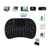 2.4Ghz Mini Wireless Keyboard With Touchpad For XBMC Android PC MX M8 TV XBox UK