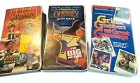 Set 3 Adventures in Odyssey Audio Series 18 Cassettes Focus on the Family  FLAW