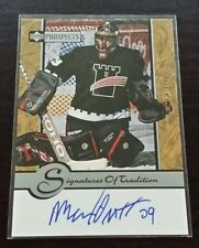 99/00 UD Prospects Signatures of Tradition MAXIME OUELLET Quebec Remparts Auto