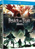 Attack on Titan: Season Two (Blu-ray Disc, 2018)