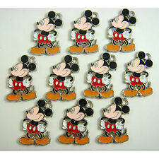 10 pcs Disney Mickey Mouse Jewelry Making metal figures Charms Pendants + cadeau