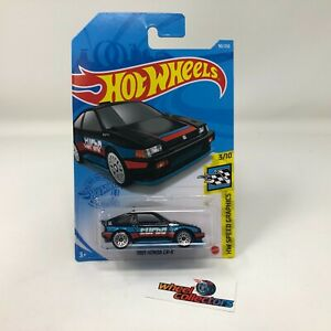 1985 Honda CR-X #90 * Black * 2021 Hot Wheels Case M * G13