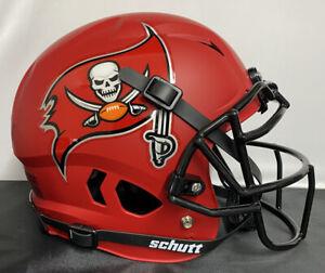 Tampa Bay Buccaneers Custom Full Size Authentic Vengeance Football Helmet MATTE