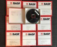 BASF LPR35 Tonband Tape Reel 13cm wie neu, aus Archiv, Spulentonband