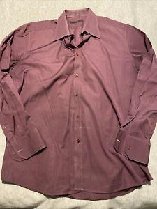 Gucci Mens Dress Shirt Party Shirt XL Italy Logo $395!!