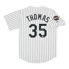 Frank Thomas signed Chicago White Sox 2005 World Series Home Jersey BECKETT