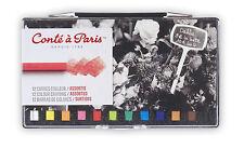 Conte un París Carres artistas Color Crayones Set   12 Varios Colores