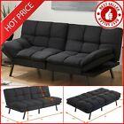 Sofa Bed Memory Foam Futon Convertible Couch Lounger Sleeper Modern Loveseat NEW