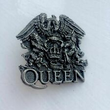 QUEEN Freddie Mercury Metal Pin Badge Bohemian Rhapsody Concert coin 50p