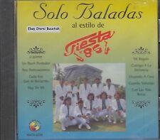 Fiesta 85 Solo Baladas CD New Nuevo Sealed