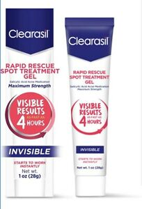 Clearasil Rapid Pimple Rescue Spot Treatment Gel 1oz (28 g)  Maximum Strength