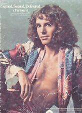 Signed, Sealed, Delivered (I'm Yours) - Peter Frampton - 1970 Sheet Music