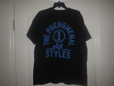 ADULT WWE AJ STYLES T SHIRT WRESTLING TEE RIPPLE JUNCTION TNA BULLET CLUB LARGE