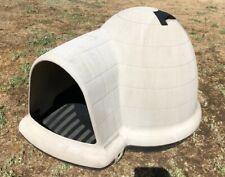 """Large Indigo Igloo-Style Dog House from Petmate (43.8"""" x 34"""" x 25.8�)"""