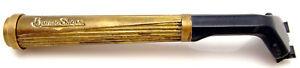 Vintage Burma Shave Safety Razor Body Metal Handle Cartridge Type