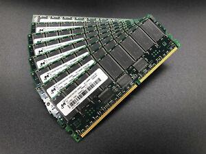4GB Kit - 8x 512MB DDR PC1600R CL2 ECC Memory RAM Module