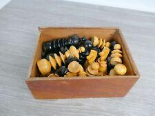 Antique Boxwood Chess Set Fine Quality |229