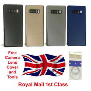 For Samsung Galaxy Note 8 Back Glass Battery Replacement Case Lens UK
