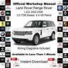 Land Rover Range Rover L322 02-06 3.0 TD6 4.4 V8 Service Workshop Manual