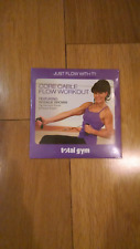 NEW!!! Total Gym Rosalie Brown Core Cable Flow Workout - Free S/H