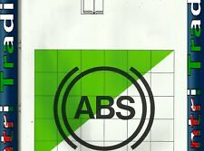 BMW E36 BOSCH ABS System Service Training Overview Book