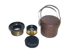 Antique Carl Zeiss Jena No 1124 Anastigmat 196mm f12.5 DRP 56109 Brass Lens