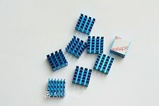 8pcs 15*15*8mm Aluminium Shim Pad Thermal VGA RAM Heat Sinks Spreader Memory