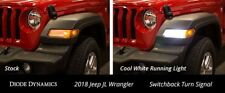 Switchback Turn Signal LEDs for 2018+ Jeep JL Wrangler Sport pair Diode Dynamics