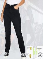 Women Motorcycle Motorbike jeans Reinforced Ladies Protective bike denim trouser