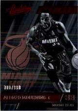 2015-16 Absolute Memorabilia Miami Heat Basketball Card #129 Alonzo Mourning