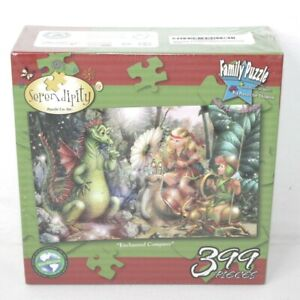 Enchanted Company Puzzle by Serendipity Fantasy Family 399 Piece NEW in Box
