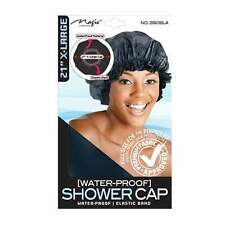MAGIC Shower Cap BLACK X - Large Size One Size Fit All 2160BlA
