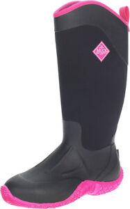 MUCK Tack II Women's Black/Hot Pink High Sizes 5,6,7,8,9,10,11's