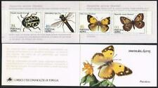 Portugal Azores 349a-352ab booklet,MNH.Michel 369C-372C MH 5. Insects 1985
