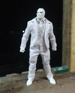 PB-MN-SET: 1/12 White Suit for Marvel Legends Moon Knight (No Figure)