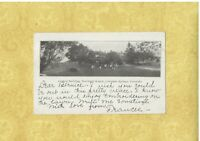 CO Colorado Springs 1906 antique udb postcard NORDRACH RANCH COLORADO TO AR