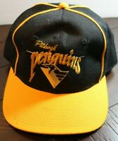 Vintage The Game One Size Fits All Pittsburgh Penguins NHL Hockey Snapback Hat