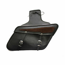 Chopper Bikes Saddle Bags Premium Cow Leather For Harley Davidson & Other Brands