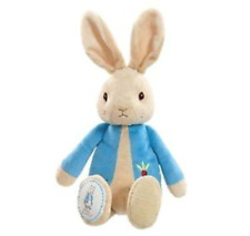 Peter Rabbit Rattle Super Soft Plush New Baby Toy  Shower Gift   FAST DISPATCH!
