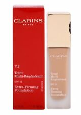 AUTHENTIC CLARINS 112 Amber Extra Firming Foundation SPF 15 Liquid Discontinued
