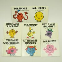 Funny MessyLot of 8 Little Miss and Mr Books by Roger Hargreaves Giggles Happy