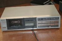SONY TC-FX22 Vintage Stereo Cassette Deck Player Recorder Tapecorder As-IS