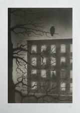 NIGHT WATCHMAN LIMITED EDITION SCREEN PRINT BY DAVE HARTLEY HAND SIGNED