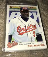 2003 Grandstand Bluefield Orioles Complete Baseball set Baltimore Minor League