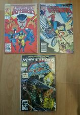 Comic book Lot Marvel Secret Defenders 1 New Def. 145 Spirit Vengeance Ghost 1