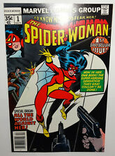 The Spider-Woman #1 1978 Marvel; 9.2 New origin & new mask added costume; CGC it