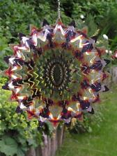 "Iron Stop 6.5""/16cm SUNFIRE SPLASH WIND SPINNER Sun Catcher Twister Hook Garden"