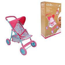 Bambole Mondo Deluxe Bambole Passeggino Spingere Sedia per bambole giocattolo fino a 56 cm