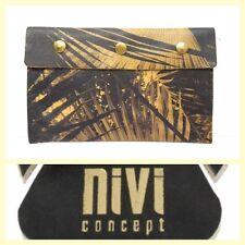 NiVi Concept $125 palm-leaf print mini-clutch/travel pouch