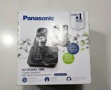 Panasonic Kx-Tg3683 Cordless Telephone w/ Digital Answering Machine (3 Handsets)